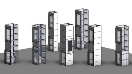 3D componenten BIM
